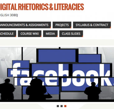 Digital Rhetorics and Literacies CourseSite
