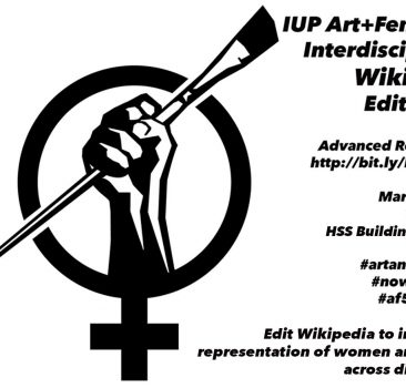 Art+Feminism Wikipedia Edit-a-thon (Year 2)